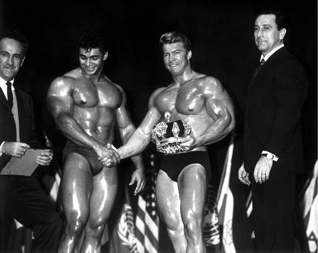 Larry Scott - Mr. Olympia