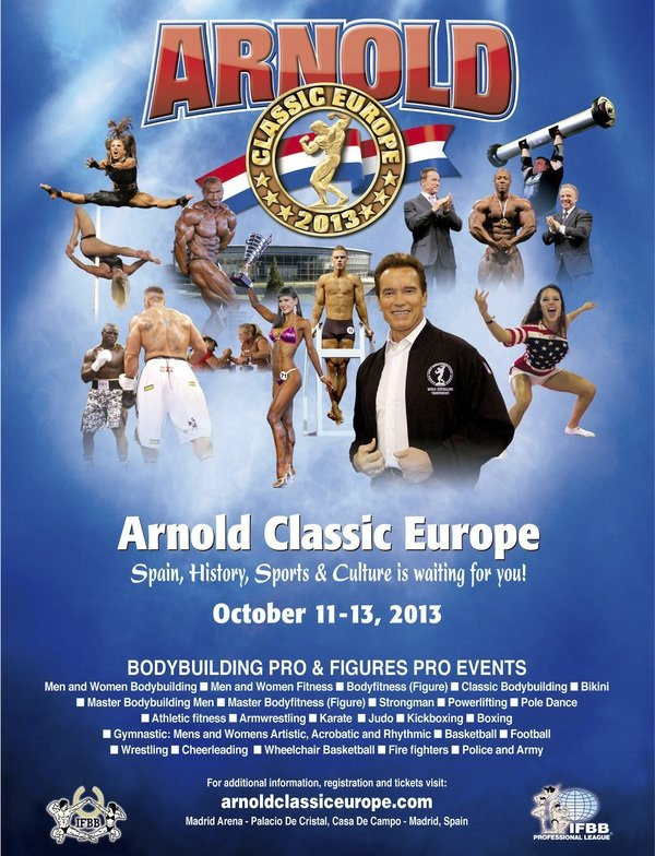 arnold classic 2013 poster