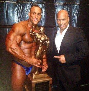 2013 NPC overall winner with Shawn Ray