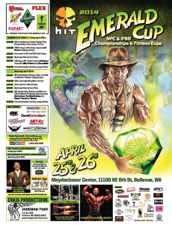 2014 emerald cup promo