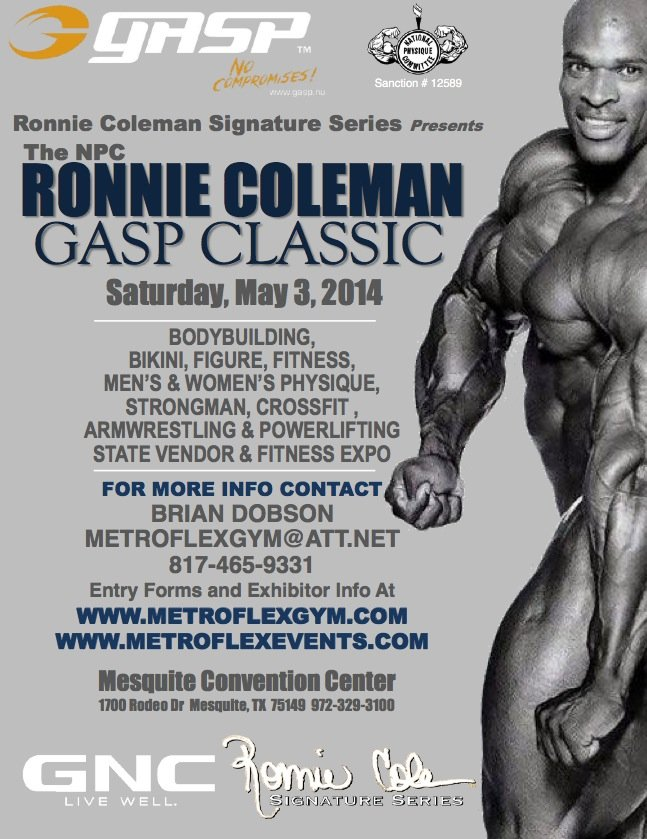 ronniecoleman classic 2014