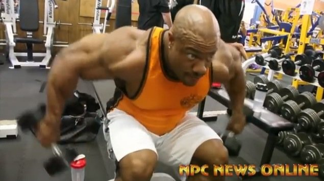 phil heath training back 2013