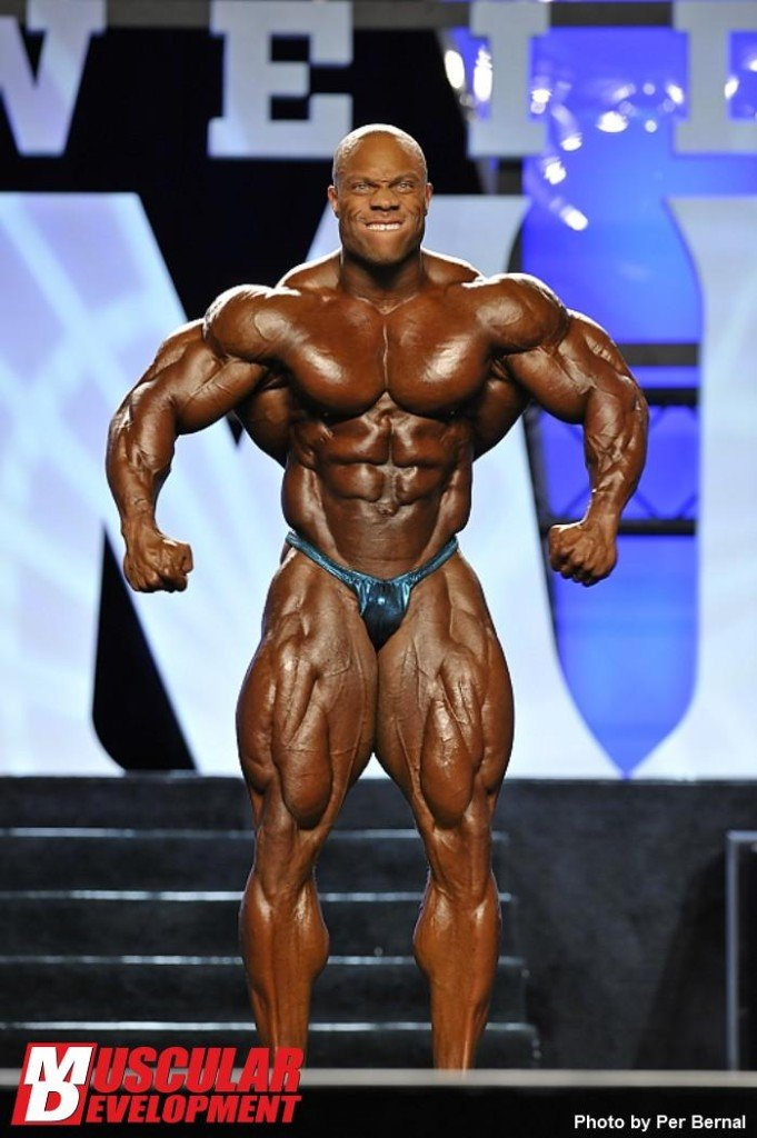 2011 Phil Heath - Mr Olympia Weekend - IFBB  First place