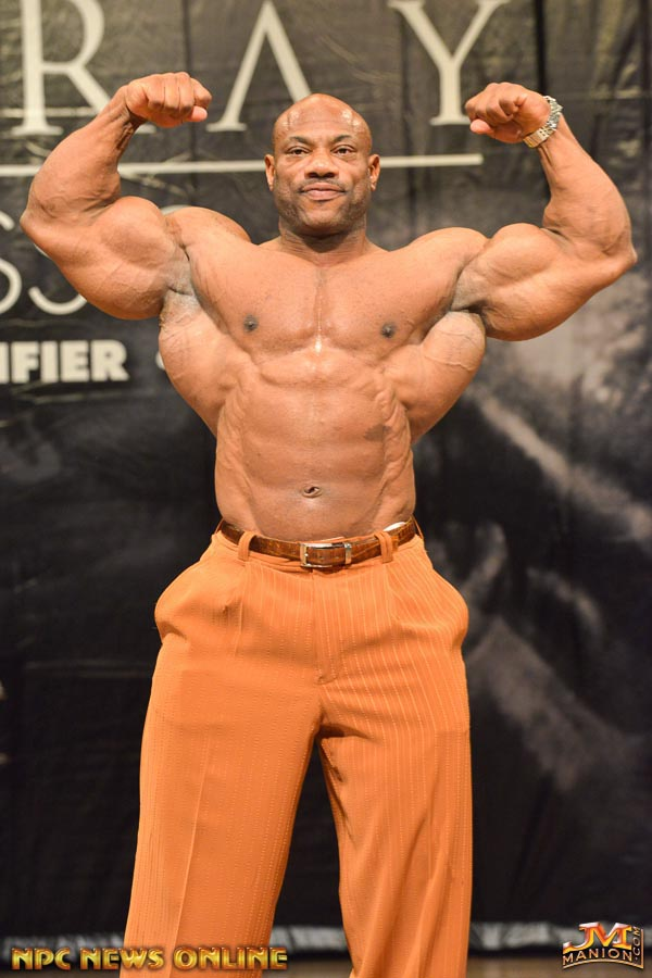 Weekly Calendar For March : Dexter jackson guest posing weeks before the mr olympia