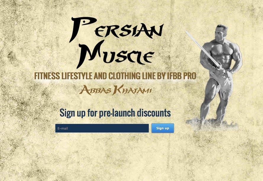 persian muscle