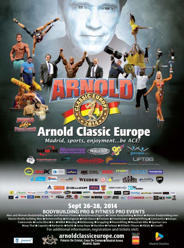 arnold europe 2014
