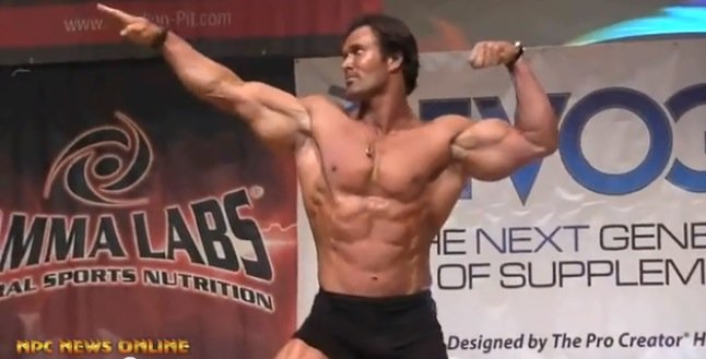 mike ohearn guest posing
