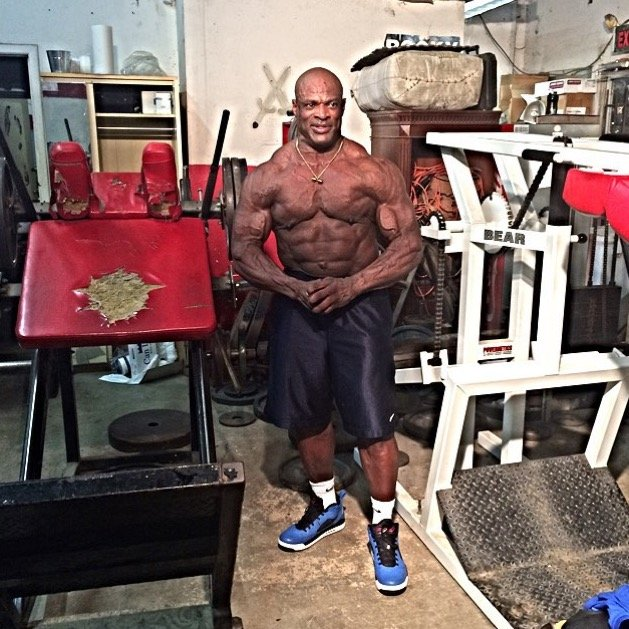 ronnie coleman July 9 2015
