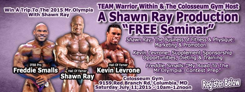 shawn ray seminar July 2015