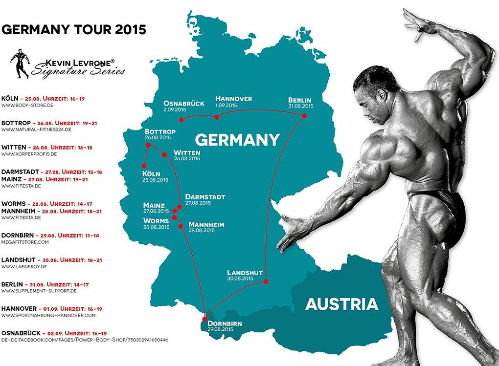 levrone Tour Germany