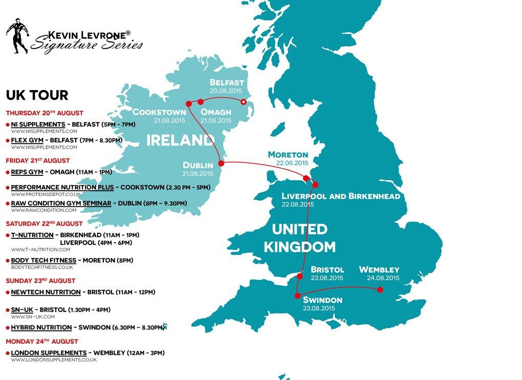levrone Tour UK