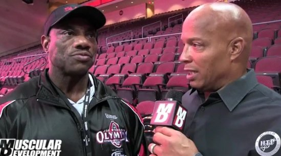 Dexter Interview olympia 2015