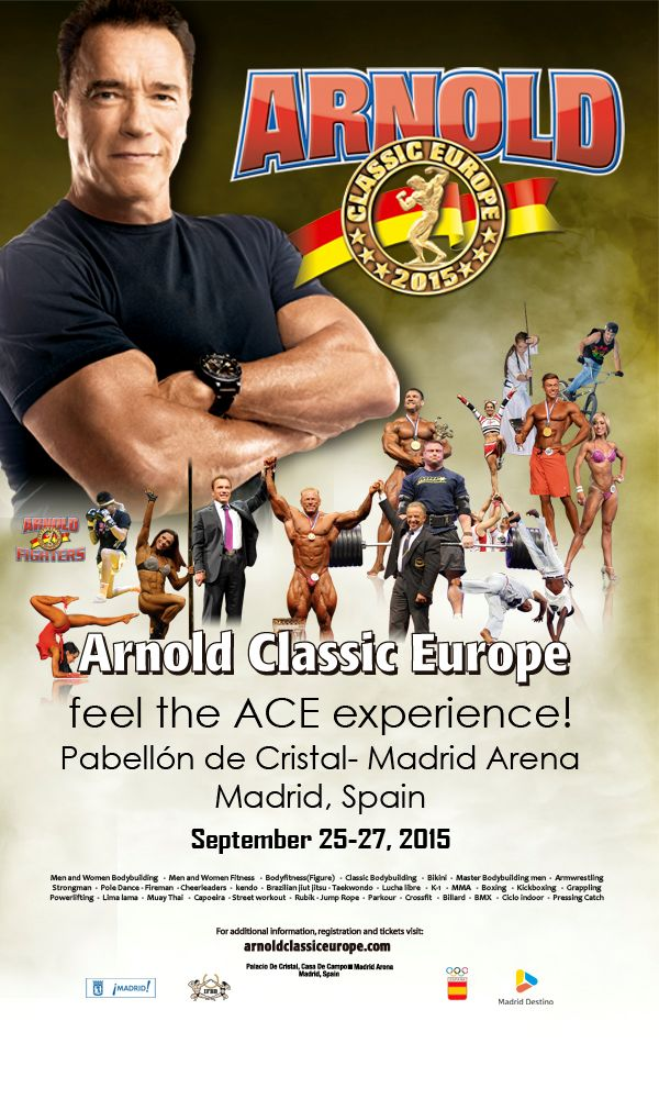 arnold classic 2015 europe poster