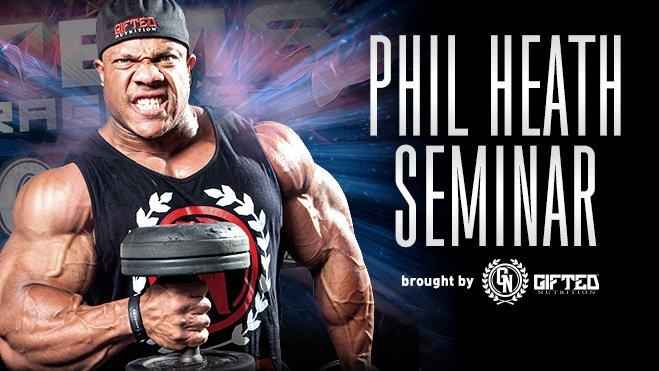 Phil Heath Seminar – 2015 EVLS Prague Pro Show