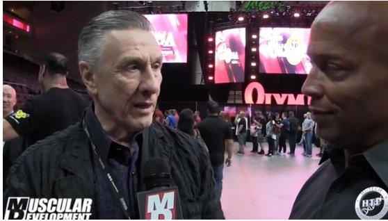 jim manion interview 2015 Olympia