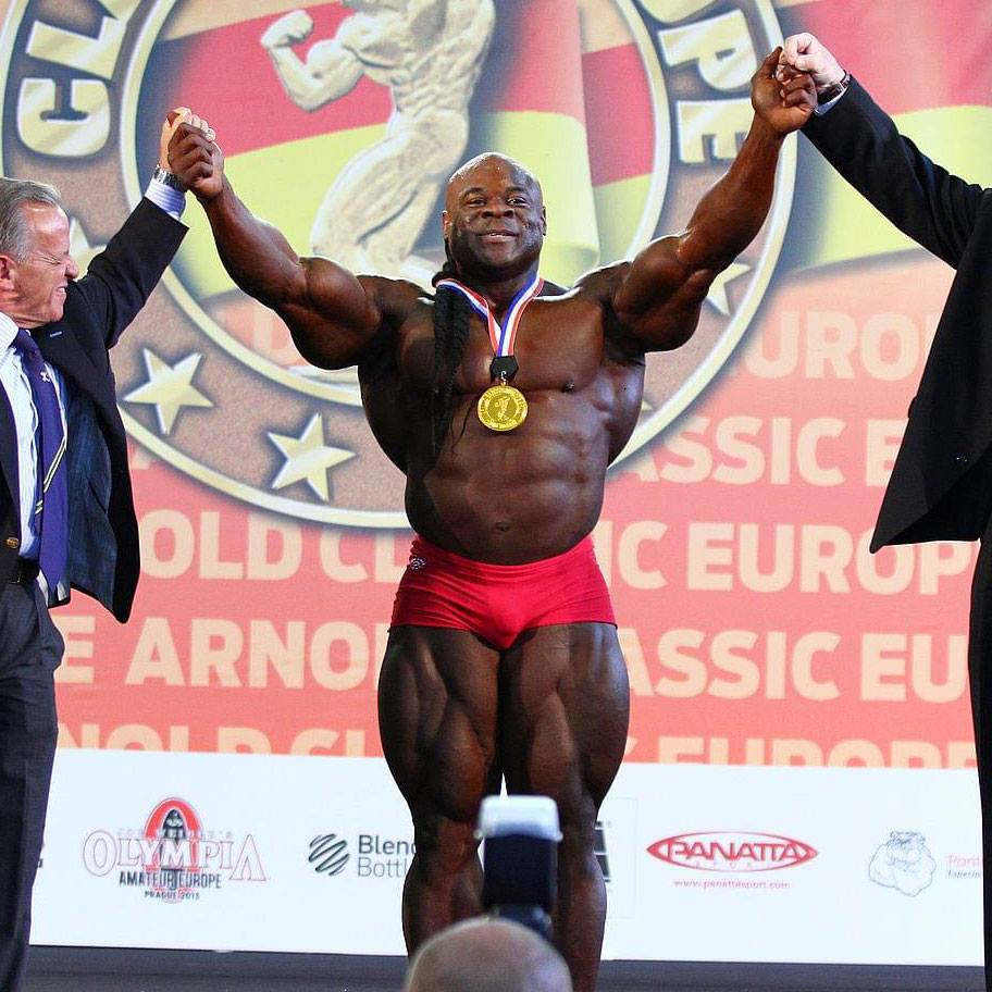 WATCH: Kai Greene's guest posing routine at the 2015 Arnold Classic Europe
