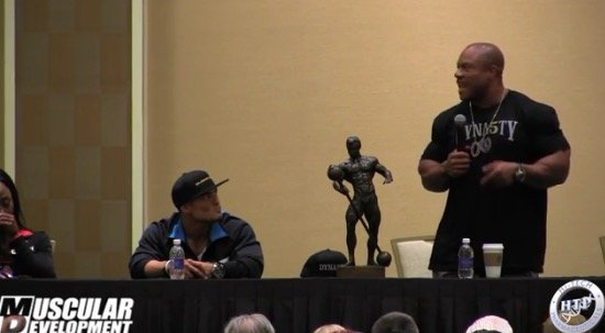 phil heath seminar olympia 2015