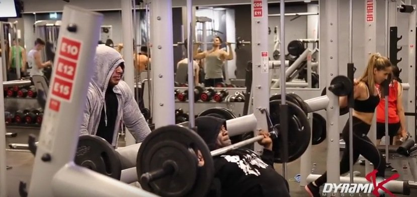 big ramy and kai greene oct 2015