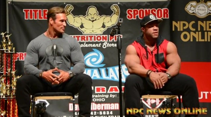 mike ohearn and phil heath oct 2015