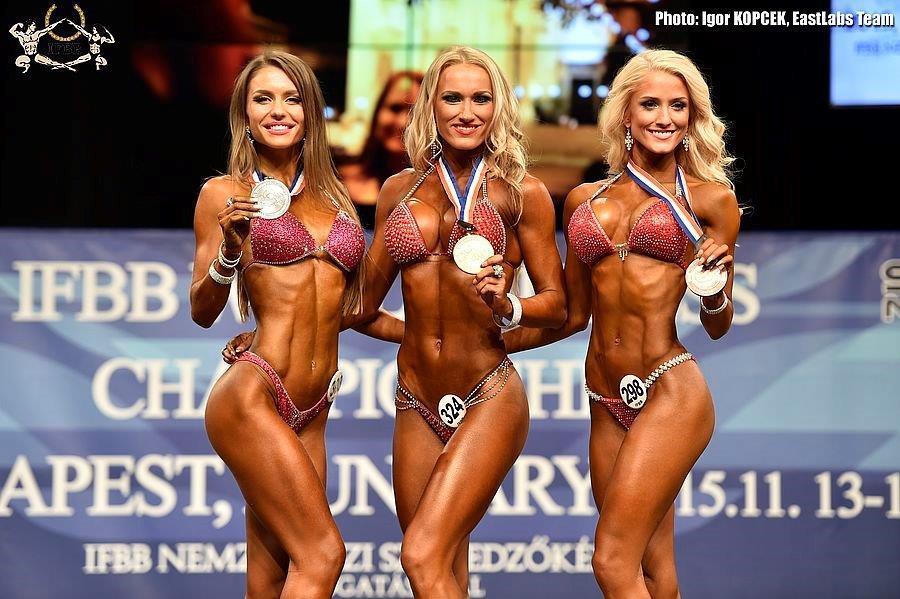 2015 IFBB WORLD FITNESS CHAMPIONSHIPS – BUDAPEST, HUNGARY