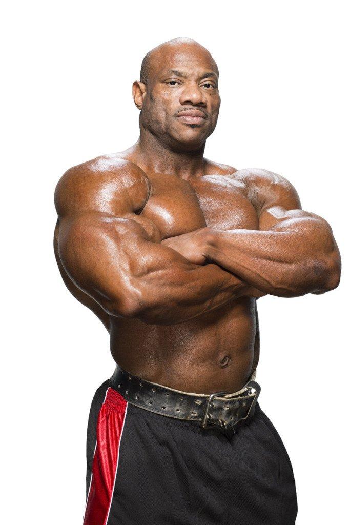 Muscular Development: Dexter Jackson