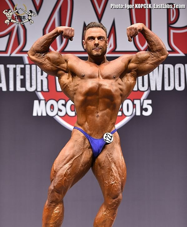 Amateur Olympia Moscow 2015