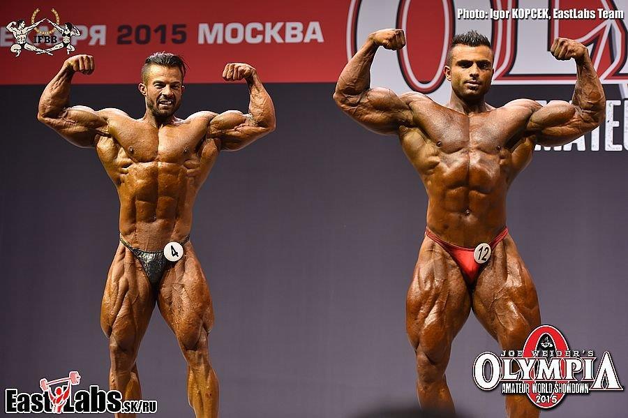 2015 OLYMPIA AMATEUR WORLD SHOWDOWN OVERALL WINNERS