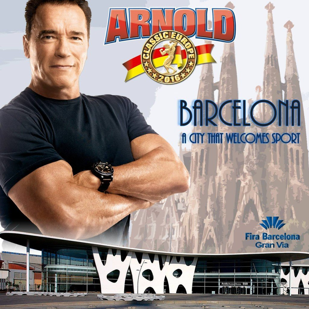 arnold classic barcelona 2016