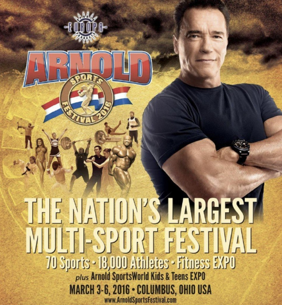arnold classic 2016 poster 2