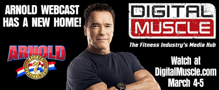 Details Announced for DigitalMuscle.com Arnold Webcast!