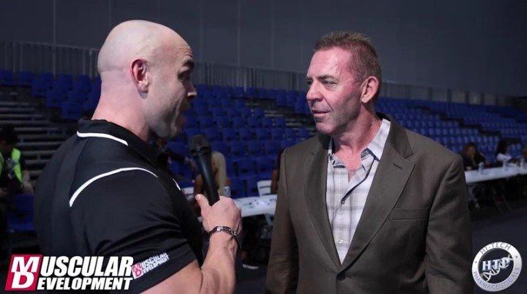 WATCH: Tony Doherty Interview – Arnold Classic Australia 2016