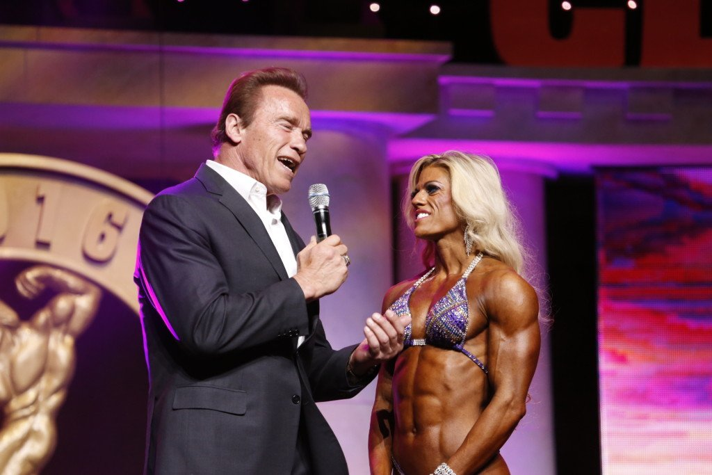 Women's Physique International Winner Autumn Swansen