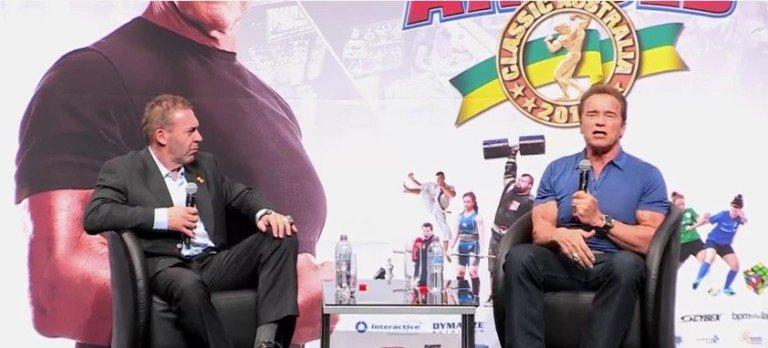 WATCH: Arnold Schwarzenegger and Kai Greene Seminars at the 2016 Arnold Classic Australia