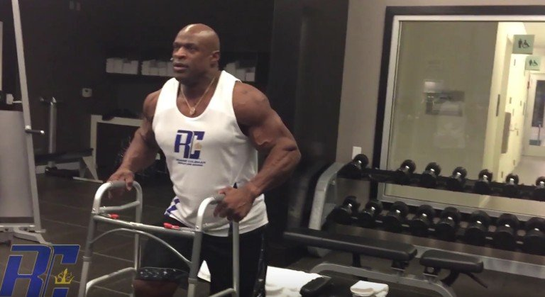 Is Ronnie Coleman to blame for his injuries?