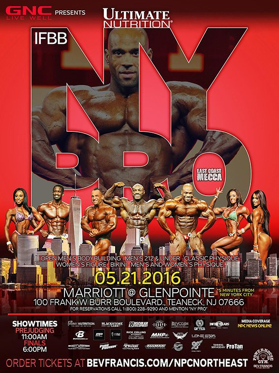 2016 IFBB New York Pro News, photos and results