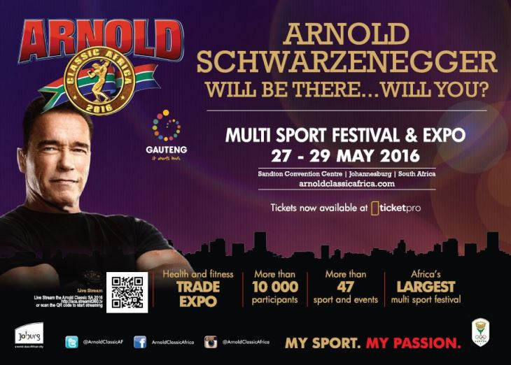 2016 Arnold Classic Africa News, photos, videos and results