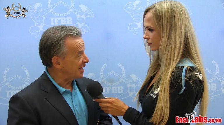 WATCH: Interview with IFBB President Rafael Santonja