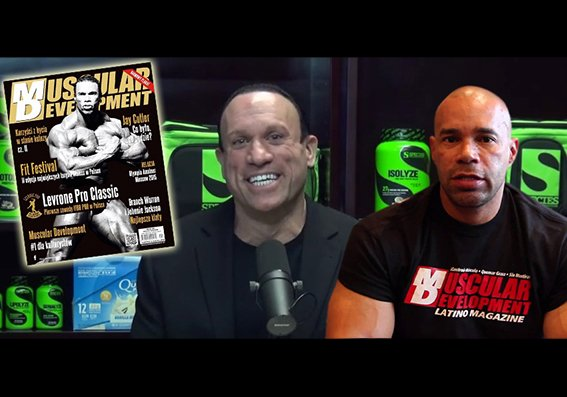 Levrone skips interview with RXMuscle, loyalty to MD prevails
