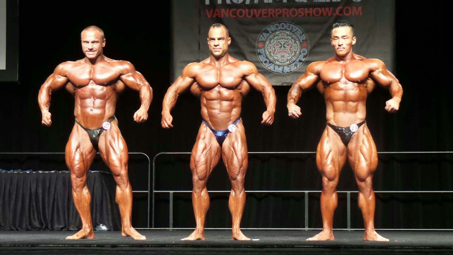 Mark Dugdale Wins The 212 Class In Vancouver Evolution Of Bodybuilding