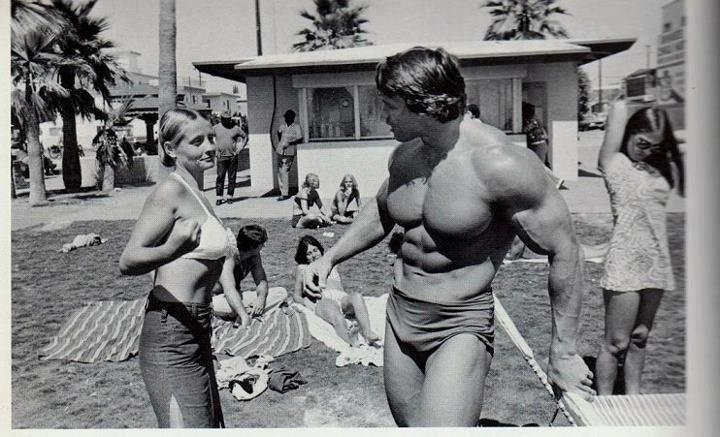 Arnold Schwarzenegger – Mr. Olympia