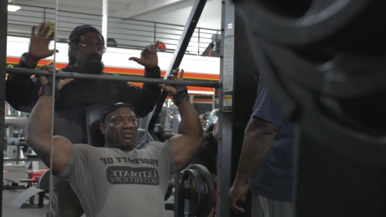 """WATCH: Dexter """"The Blade"""" Jackson: """"The Road To Mr Olympia 2016"""""""