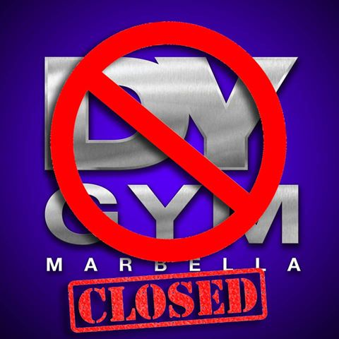 Dorian Yates no longer associated with DY GYM in Marbella, Spain