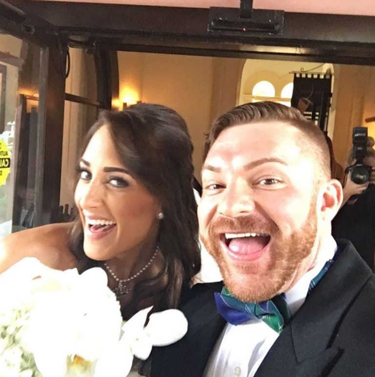 Congratulations to Flex Lewis and his wife Ali Rosen