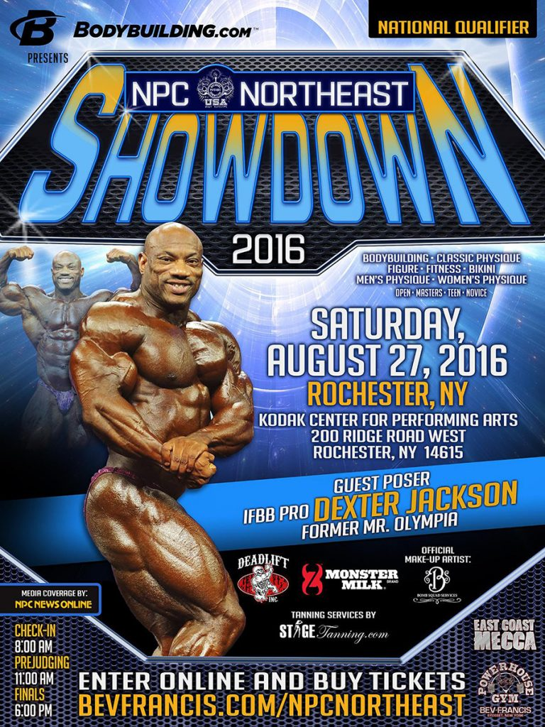 WATCH: Dexter Jackson guest posing 3 weeks out from Olympia