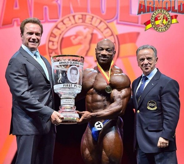 2017 Arnold Classic Europe confirmed competitors
