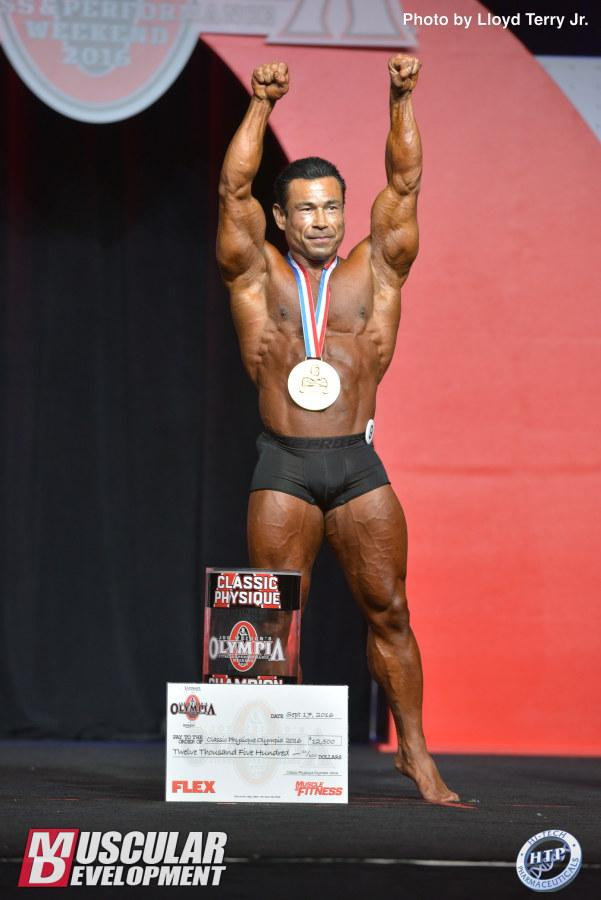 Danny Hester wins the first ever Classic Physique Olympia