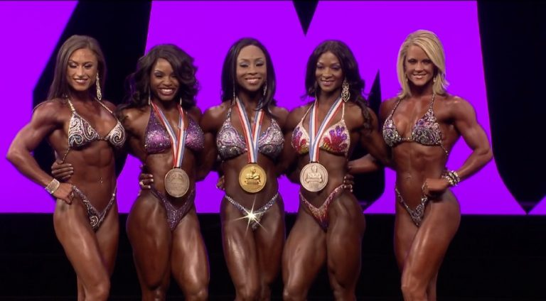 Latorya Watts wins the 2016 Figure Olympia