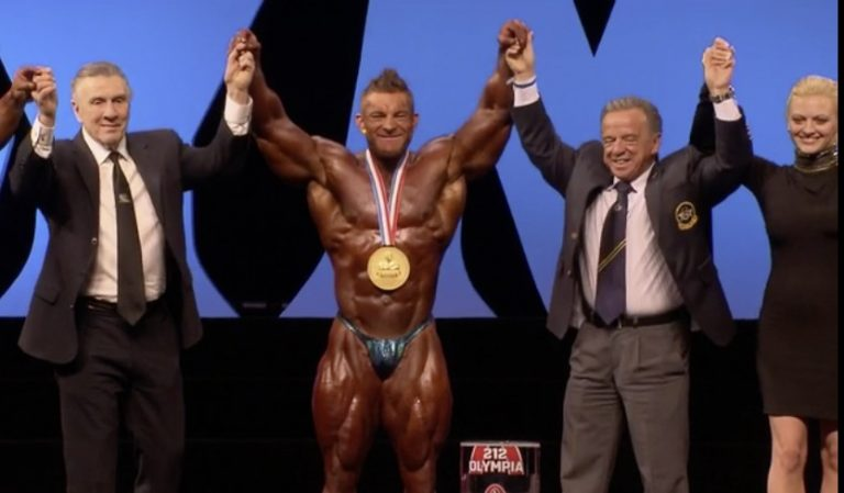 James Flex Lewis wins his fifth 212 Olympia title