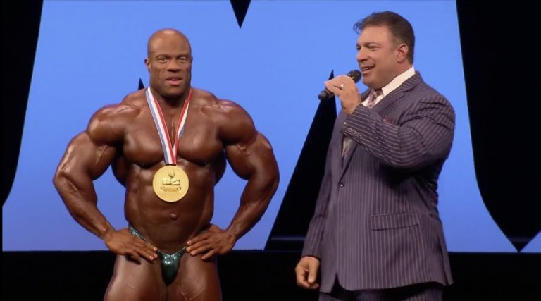 Phil Heath wins his sixth Mr. Olympia