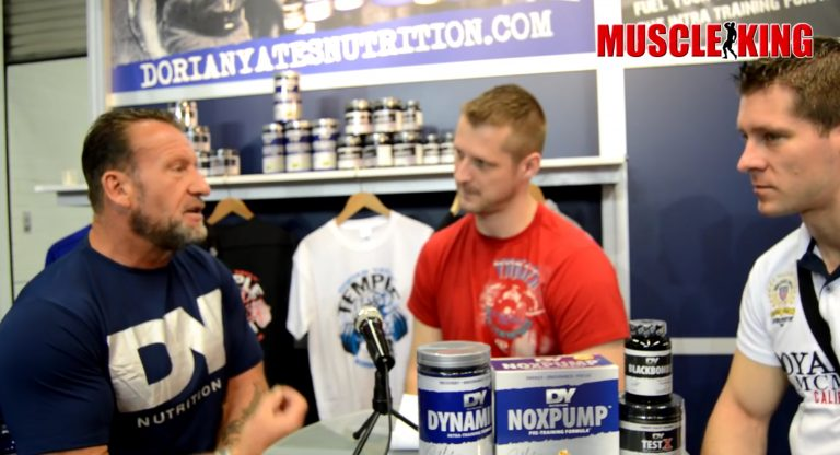 WATCH: Dorian Yates interviewed by Team MuscleKing